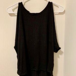 Aritzia Babaton Open Shoulder Shirt